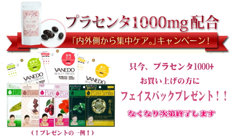 More than EINEN placenta 1000+/60 grain /1000mg combination straight placenta placenta supplement / placenta ぷらせんた beauty supplement high density supplement supplement concentration