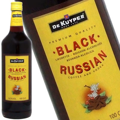 DeKuyper black Russian 1000 ml 14. Five times Rakuten lows in the challenge! Importantly liqueur liqueur type kawahc