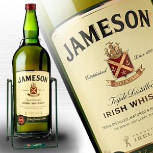 ジェムソン 4.5L (4500ml) 40度 クレードル付 アイリッシュウイスキー超特大ガロン瓶 kawahc 同梱不可 今だけこの品のみ離島も含めて全国どこでも送料無料