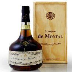 1960年生まれの誕生年の記念バースデーヴィンテージボトルに、豪華木箱付のアルマニャックブランデー ド・モンタル700ml[1960]を贈って喜ばれませんか kawahc