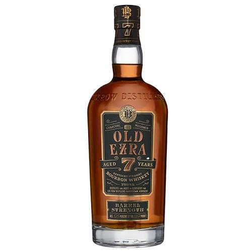 限定樽に詰められて7年の熟成を重ねた貴重なウイスキー ゆっくりと時を重ね 円熟のピークを迎えた味わいは ストレートでじっくりと味わっていただきたい本格派の逸品 オールドエズラ バレルストレングス 7年 750ml エズラブルックス バーボンウイスキー kawahc 激安価格と即納で通信販売 正規輸入品 58.5度 ウイスキー バーボン 世界の人気ブランド OldEzraBarrelStrength