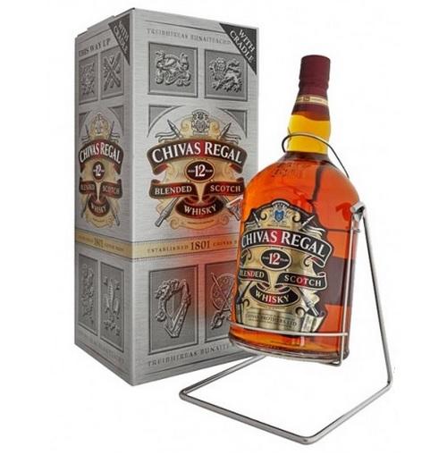 シーバスリーガル 12年 4500ml 40度 超特大瓶 ブランコ クレドル付 同梱不可 kawahc ※箱なし扱いとなります。
