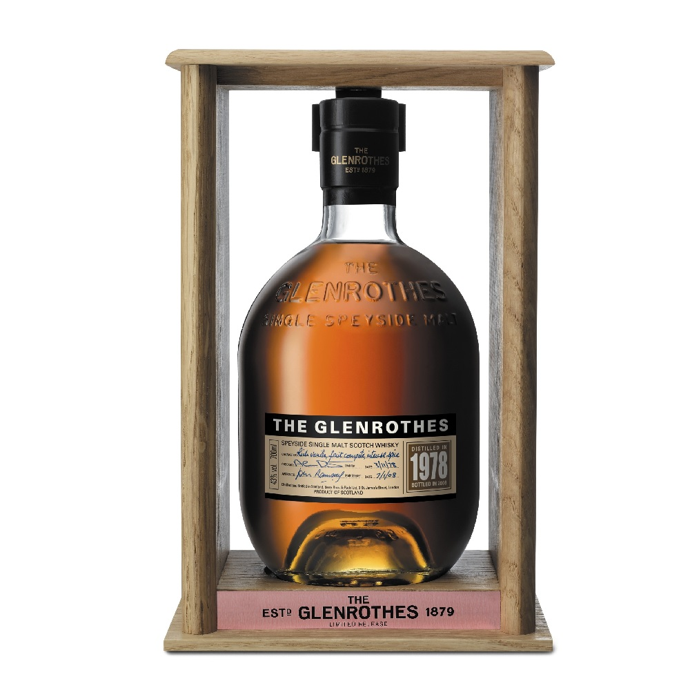 最高級のワインに共通する完成度の高さが特徴。伝統を重んじながらも、型破りのアイデアで新たなフロンティアを目指す人々が楽しむシングルモルトです。  グレンロセス ヴィンテージ [1978] 700ml 43度 正規輸入品 箱付 The Glenrothes スペイサイドモルト シングルモルトウイスキー ウヰスキー ウィスキー VINTAGE SpeysideMalt Single Malt Scotch Whisky kawahc