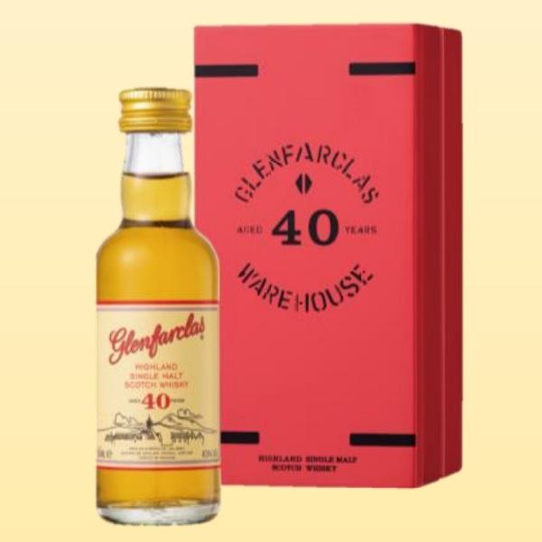 リッチで魅力的な甘みをもたらしています いつまでも続く甘やかな長い余韻 グレンファークラス 40年 レッドドア 50ml 43度 ミニチュアボトル 爆買い新作 正規輸入品 箱付 Glenfarclas 40years グレン Single SpeysideMalt スペイサイドモルト シングルモルトウイスキー Malt ファークラス イギリス英国スコットランド産 Scotch 35%OFF kawahc Whisky