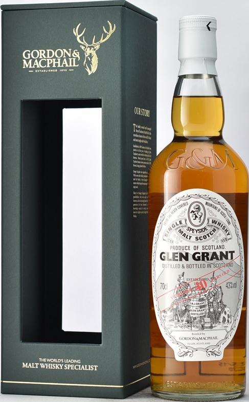 G&M (ゴードン&マクファイル) グレングラント 40年 700ml 43度 正規輸入品 GLEN GRANT スペイサイドモルト シングルモルトウイスキー kawahc ※今だけ北海道から沖縄まで離島も含めて送料無料