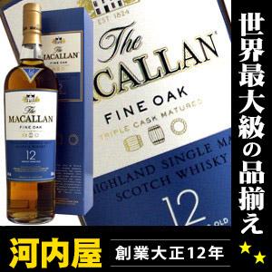 kawahc for McCarran 12 years with fine oak 700 ml 40 degrees regular box