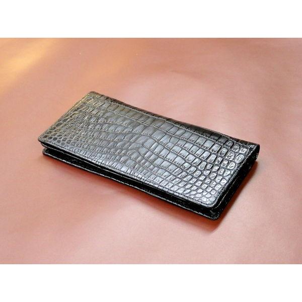 クロコダイル紳士長財布