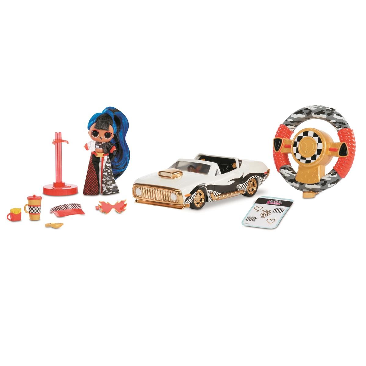【最大1000円OFFクーポン配布中】L.O.L. Surprise! RC Wheels ? Remote Control Car with Limited Edition Doll ギフト 誕生日 ホビー かわいい ドール 人形 LOLサプライズ lol lolサプライズ エルオーエルサプライズ フィギュア おもちゃ 女の子 プレゼント