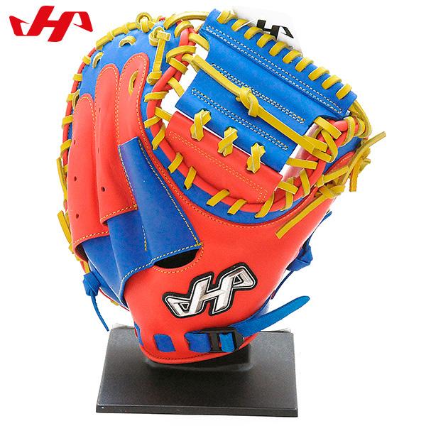 ハタケヤマ 軟式 グローブ キャッチャーミット ジュニア 少年用 限定品 2018 シェラームーブ 野球 PRO-JR8 レッド×ブルー
