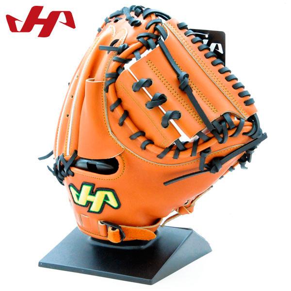 ハタケヤマ 硬式 グローブ キャッチャーミット 捕手用 野球 右投げ用 K-M8JC オレンジ