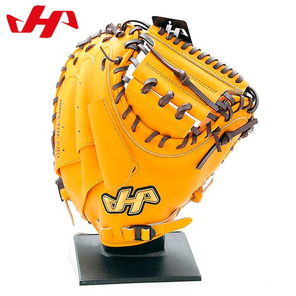 ハタケヤマ 硬式 グローブ キャッチャーミット 捕手用 野球 右投げ用 K-M8JY Jイエロー