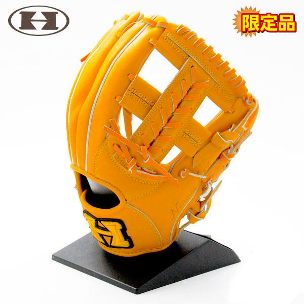 ハイゴールド 軟式 グローブ 内野 野球 限定品 SPG-606 右投げ ナチュラル
