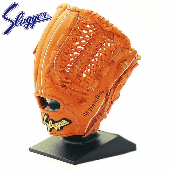 久保田スラッガー 硬式 グローブ 野球 袋付 投手 内野 投手 ショート サード KSG-MS-1 DPオレンジ