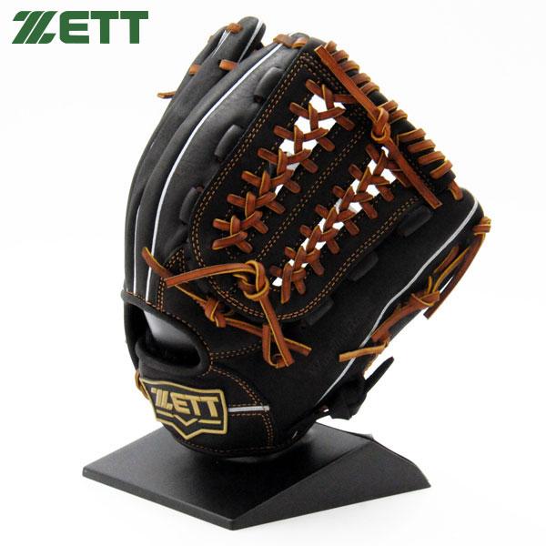 ゼット 軟式 グローブ オールラウンド 野球 M号対応 右投げ BRGB33870 ブラック×オークブラウン