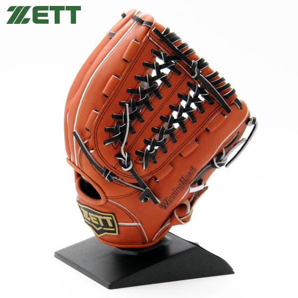 ゼット 軟式 グローブ オールラウンド 野球 M号対応 右投げ BRGB33870 ウッディブラウン×ブラック