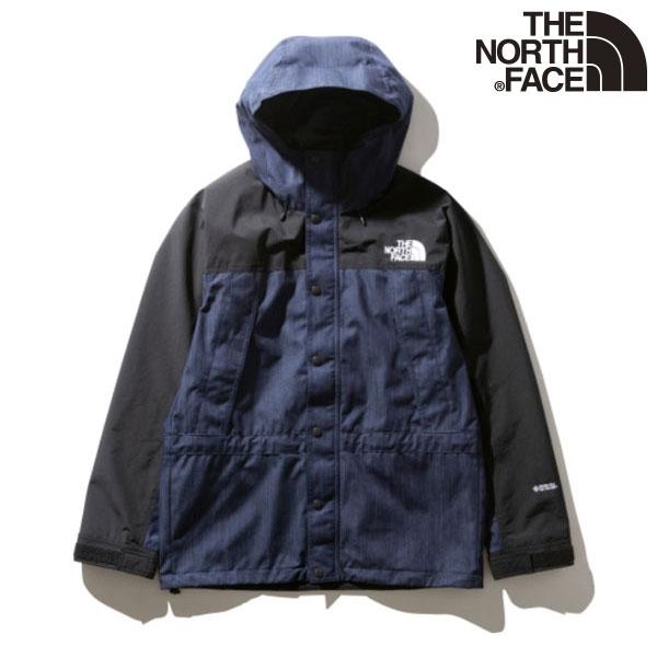 THE NORTH FACE ジャケット フード 長袖 3209ksn ナイロンインディゴデニム ウェア アウトドア マウンテンライトデニムジャケット ノースフェイス NP12032 日本産 ※アウトレット品 メンズ