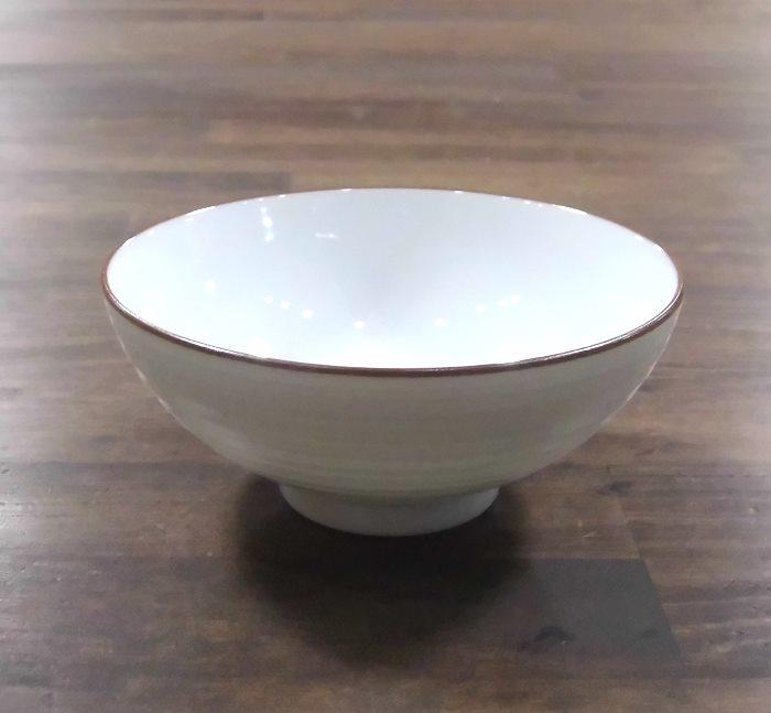 有田焼 白磁千段 値下げ ストアー 白山陶器 4寸飯碗