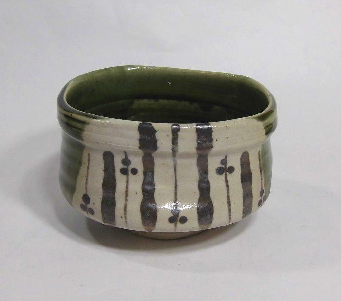 茶碗 織部