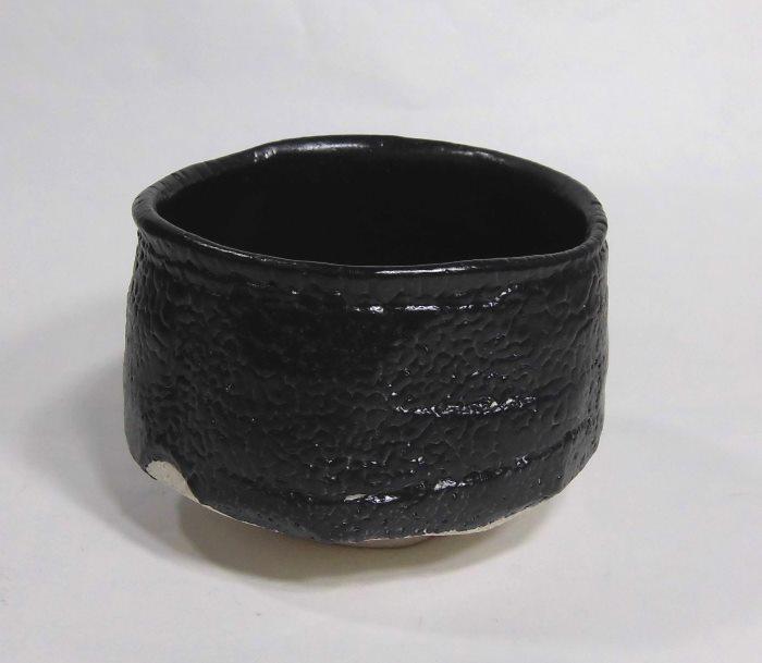 茶碗 織部黒