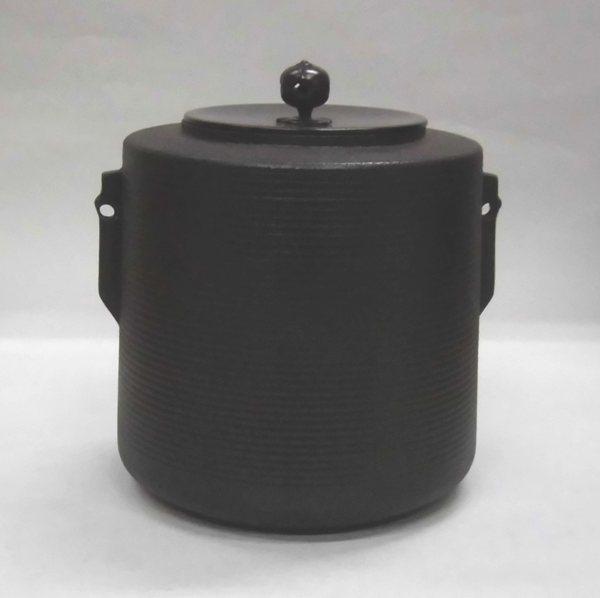 しきの釜 糸目筒(炉・風炉兼用)