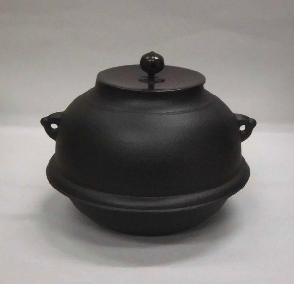 しきの釜 丸 (炉・風炉兼用)
