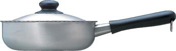 柳宗理 ステンレス・アルミ3層鋼 片手鍋 22cm つや消し