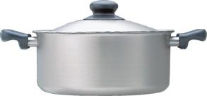 柳宗理 ステンレス・アルミ3層鋼 浅型両手鍋 22cm つや消し05P30Nov13