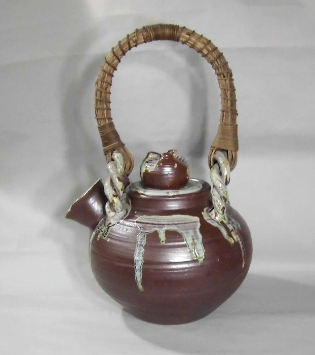 南蛮土瓶花瓶