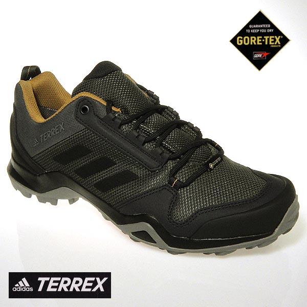 アディダス メンズ 透湿防水 ゴアテックス スニーカー TERREX AX3 GTX BC0517 GORETEX adidas グレー 送料無料
