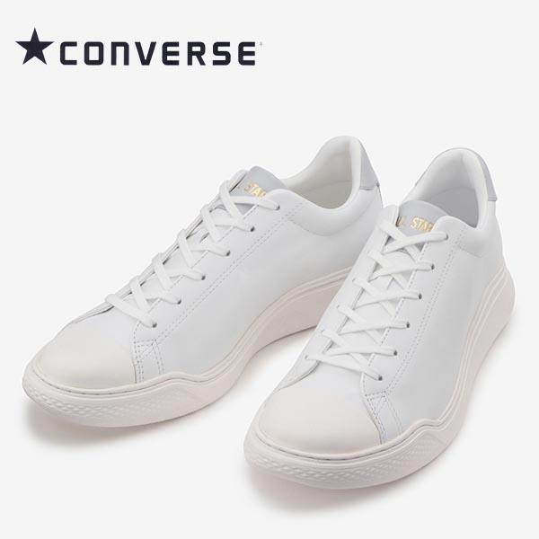 コンバース オールスタークップ クルベ レザー ホワイト/グレー 白 converse allstar coupe COURBE LEATHER ox メンズ レディース スニーカー 送料無料