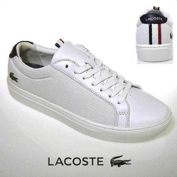 ラコステ スニーカー メンズ L.12.12 LIGHT-WT 119 1 ホワイト/ネイビー 白/紺 lacoste CMA0040 042 19春夏 送料無料