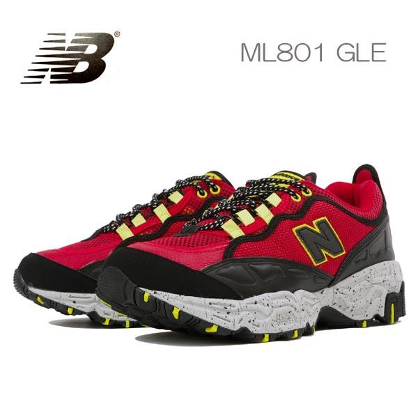 ニューバランス スニーカー メンズ ML801 TRAIL GLE newbalance レッド赤トレイルランニング アウトドア 送料無料