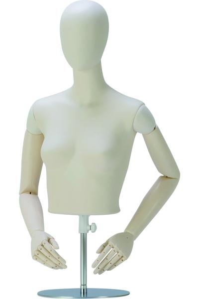 バリエーション豊富なスタンダードトルソ- 婦人卓上システムトルソ7号 『4年保証』 爆買いセール SBZT13-H1-A7V-90レディ―ストルソー
