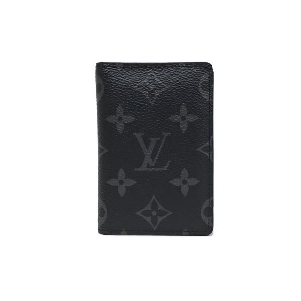 【中古】ルイヴィトン モノグラム・エクリプス オーガナイザー・ドゥ ポッシュ カードケース カード入れ M61696 LOUIS VUITTON LV