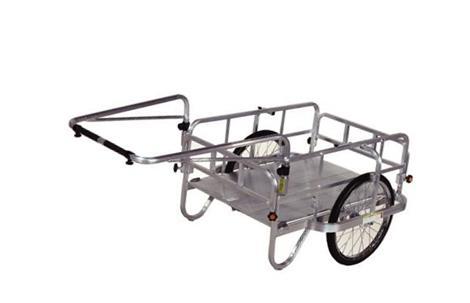 ハラックス アルミ製折り畳み式リヤカーHC-906 エアータイヤ仕様