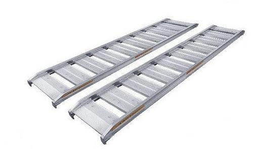 純国産 アルミブリッジ2本組 6尺 0.5トン 巾30(道板 )昭和ブリッジ