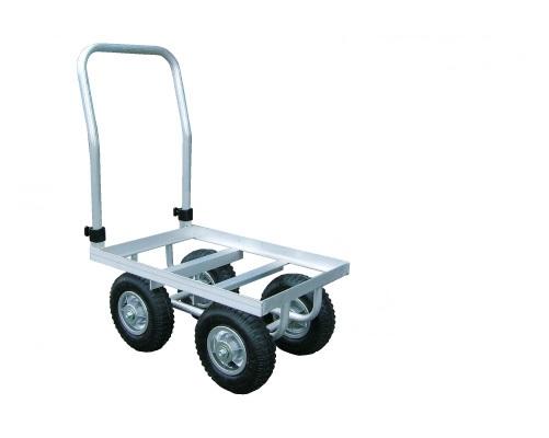 アルミス アルミハウスカー 1個用積 運搬車 アルミ収穫車