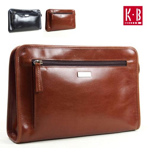 軽さが魅力のシンプルで使いやすい牛革セカンドバッグ カワノバッグだけのオリジナルバッグ 軽量タイプ