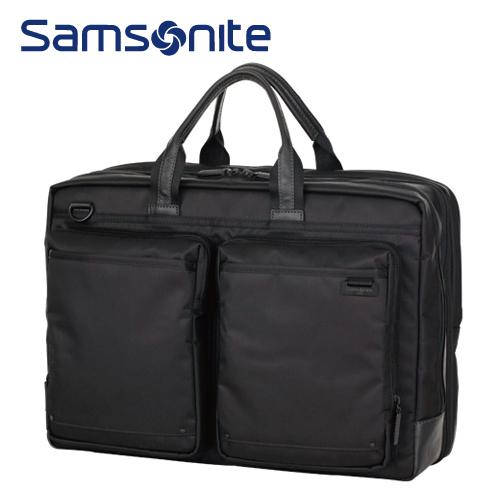 ブリーフケースL-EXP SAMSONITE サムソナイト Debonair III デボネア3 R89*09004 Lサイズ 2WAYバッグ ブラック