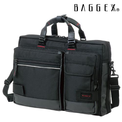 ブリーフケース BAGGEX バジェックス LIGHTNING ライトニング 3WAYビジネスバッグ シングルルーム型 No.23-5514