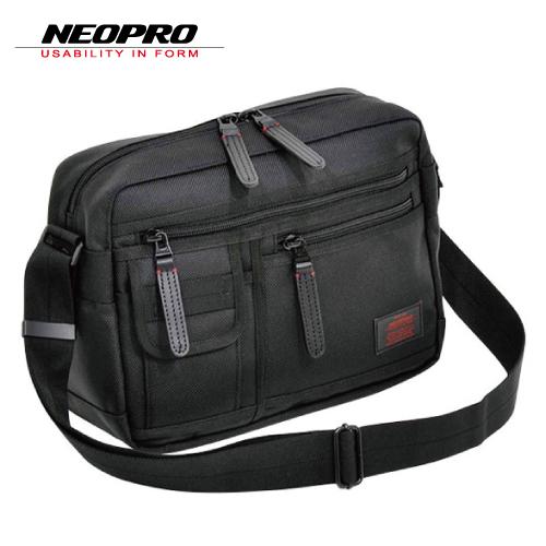 ショルダーバッグ NEOPRO RED ネオプロ レッド メンズバッグ ビジネスバッグ 2-020 ブラック