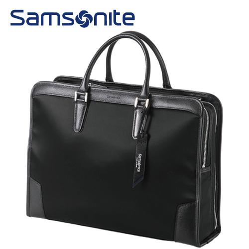 ブリーフケースL SAMSONITE サムソナイト EI-Lite エルライト ビジネスバッグ メンズバッグ 2WAYバッグ AC7*09003 ブラック