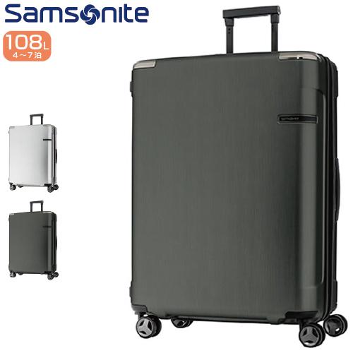 スーツケース SAMSONITE サムソナイト Evoa エヴォア Spinner 75cm DC0*005 ジッパー/ファスナー