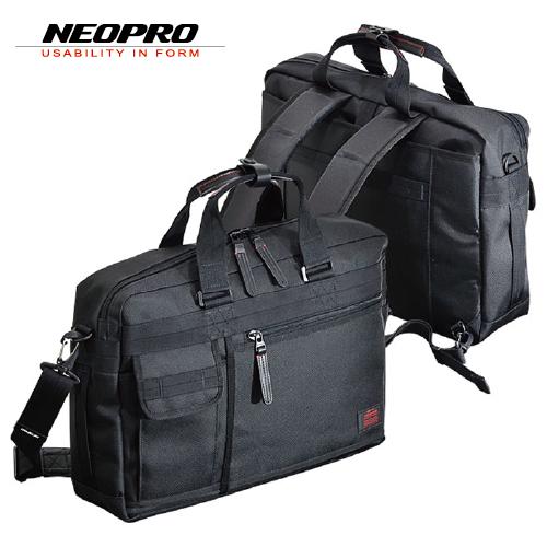 ビジネスバッグ NEOPRO RED ネオプロ レッド メンズバッグ 横背負い 2-073 3way ブラック