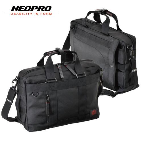 ビジネスバッグ NEOPRO RED ネオプロ レッド メンズバッグ ショルダーバッグ Sルーム 3Way 2-038 ブラック