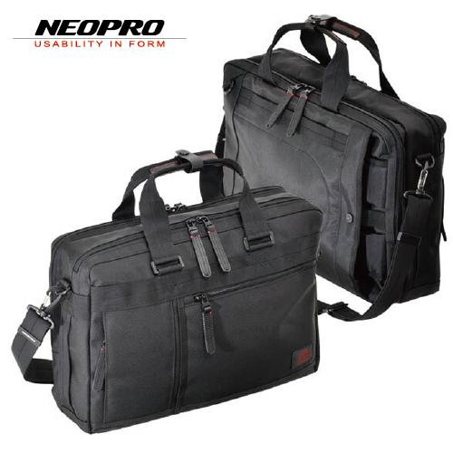 ビジネスバッグ NEOPRO RED ネオプロ レッド メンズバッグ ショルダーバッグ Wルーム 3Way 2-039 ブラック