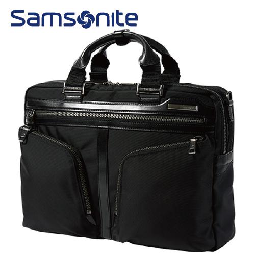 ブリーフケースM Exp SAMSONITE サムソナイト Effi Tec エフィテック メンズバッグ ビジネスバッグ 2Wayバッグ DJ9*09002 ブラック