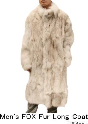 kawanotajimaya | Rakuten Global Market: Men's FOX Fur Long Coat ...