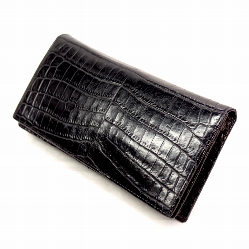 メンズ 革財布 クロコダイル 無双 長財布 本革 エキゾチックレザー ta2