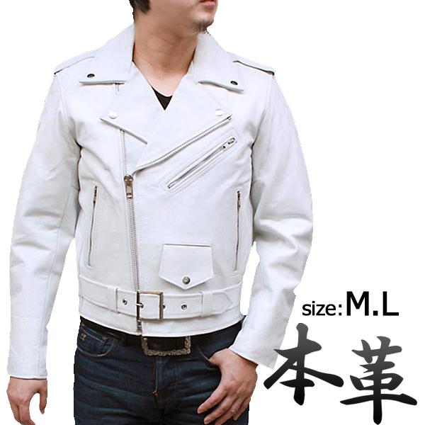 ライダースジャケット メンズ 本革 牛革 革ジャン ライダースジャケット バイクウェア